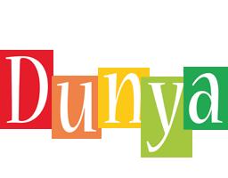 Dunya colors logo