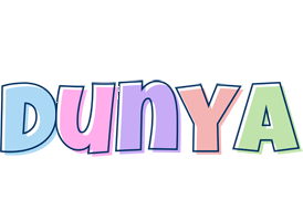 Dunya pastel logo