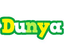 Dunya soccer logo