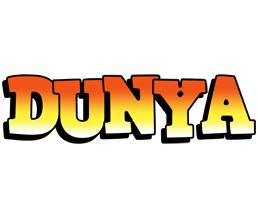 Dunya sunset logo