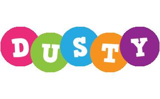 Dusty friends logo