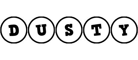 Dusty handy logo