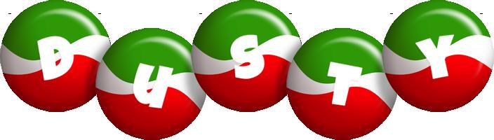Dusty italy logo