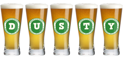 Dusty lager logo