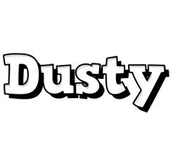 Dusty snowing logo