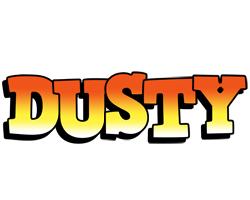 Dusty sunset logo