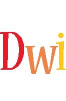 Dwi birthday logo