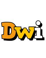 Dwi cartoon logo