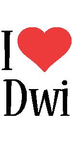 Dwi i-love logo