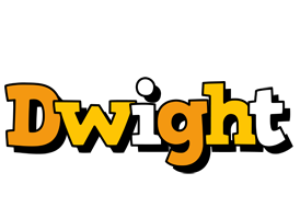 Dwight cartoon logo