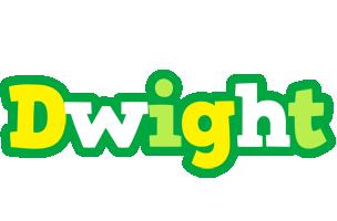 Dwight soccer logo