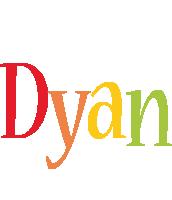 Dyan birthday logo