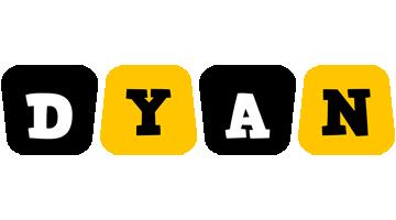 Dyan boots logo