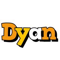 Dyan cartoon logo