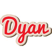 Dyan chocolate logo