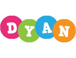 Dyan friends logo