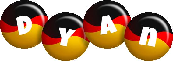 Dyan german logo