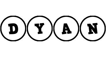 Dyan handy logo