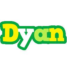 Dyan soccer logo