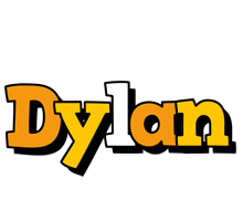 Dylan cartoon logo