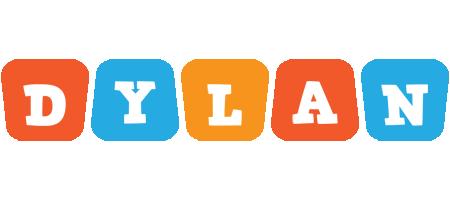 Dylan comics logo