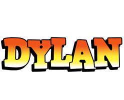 Dylan sunset logo
