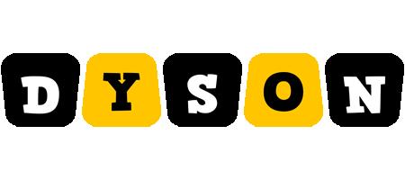 Dyson boots logo
