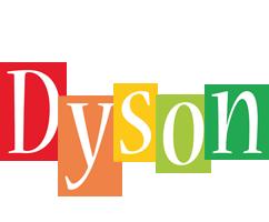 Dyson colors logo