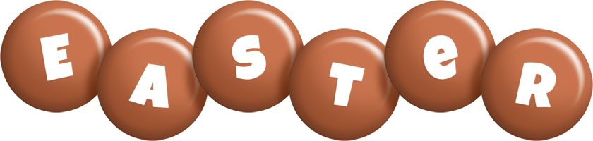 Easter candy-brown logo