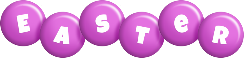 Easter candy-purple logo