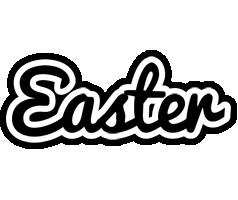 Easter chess logo