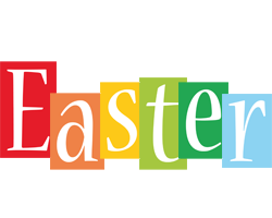 Easter colors logo