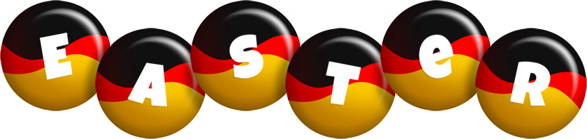 Easter german logo