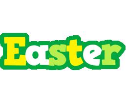 Easter soccer logo