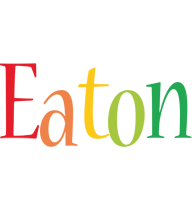 Eaton birthday logo