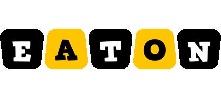 Eaton boots logo