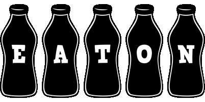 Eaton bottle logo