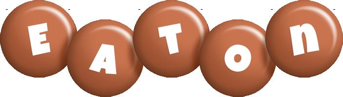 Eaton candy-brown logo