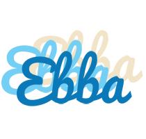 Ebba breeze logo