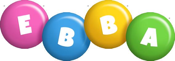Ebba candy logo