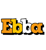 Ebba cartoon logo