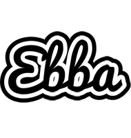 Ebba chess logo