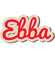 Ebba chocolate logo