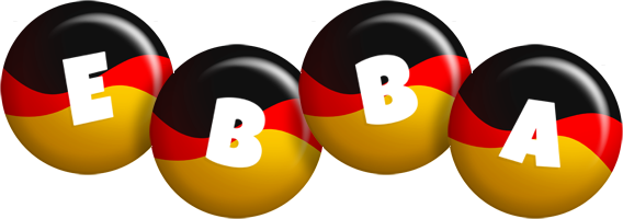 Ebba german logo