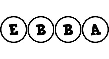Ebba handy logo
