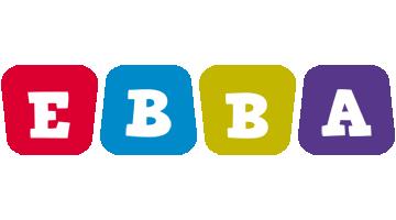Ebba kiddo logo