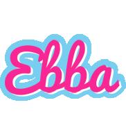Ebba popstar logo