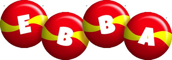 Ebba spain logo