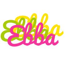 Ebba sweets logo
