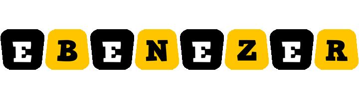 Ebenezer boots logo